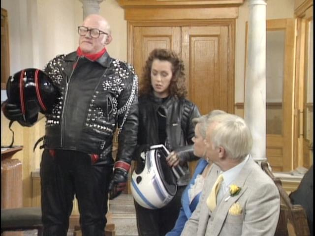 Rumbold in Leather